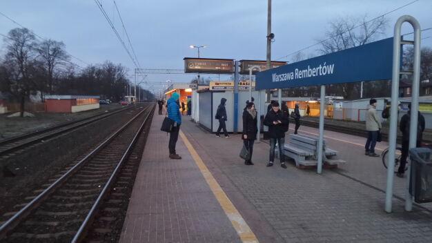 Awaria na stacji Warszawa Rembertów