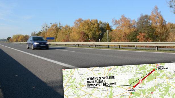 Na ten odcinek wydano ZRID GDDKiA / mapa.targeo.pl