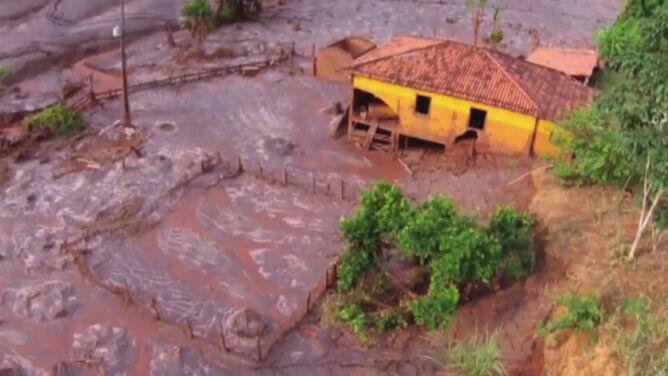 Katastrofa ekologiczna w Brazylii. <br />Zanieczyszczenia dotarły do Atlantyku