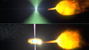 Gwałtowna przemiana pulsara: jest już 5-krotnie jaśniejszy
