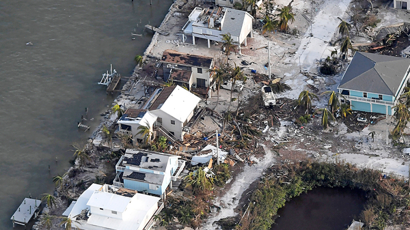 Irma przetoczyła się przez Florydę