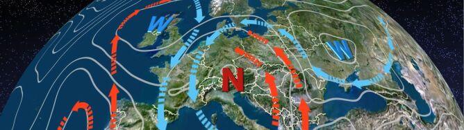 Niż znad Włoch spowoduje napływ ciepłego i wilgotnego powietrza