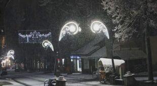 W Zakopanem spadł śnieg